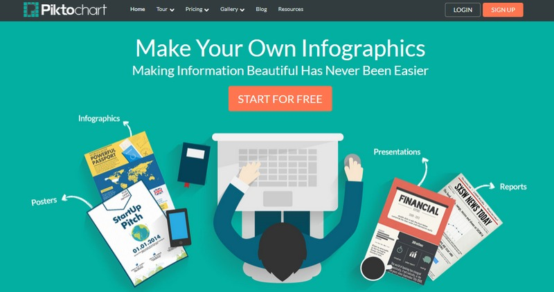 Infographic web tools