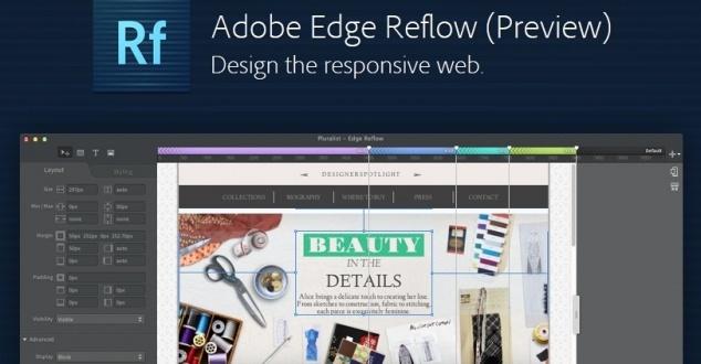 Ruszyła pierwsza testowa wersja Adobe Edge Reflow