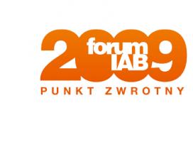 Hasło tegorocznego Forum IAB 2009 brzmi: Punkt Zwrotny