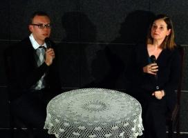 Od lewej: Jakub Górnicki, Anne Nelson Fot.: Piotr Marciniak