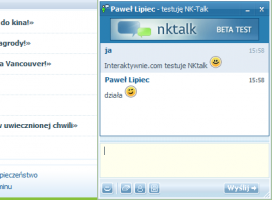 Pierwsze publiczne testy komunikatora NKtalk