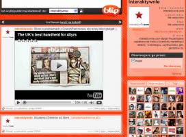 Profil interaktywnie.com został uznany za jeden z najlepiej prowadzonych proflii marek na Blipie