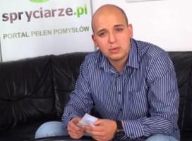 Szef Spryciarze.pl w Lookr.tv
