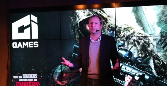 fot. CI Games, na zdjęciu Marek Tymiński, prezes zarządu