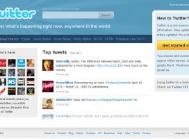 Twitter ma nową stronę główną
