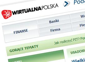 Wirtualna Polska celuje w podatników