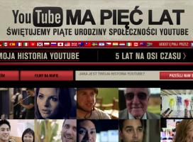 YouTube kończy 5 lat. Światowy sukces amatorskich filmików