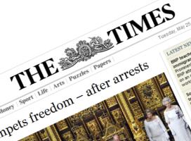 źródło: thetimes.co.uk