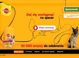 Gdzie na spacer z psem? Wartość dodana promocji Pedigree