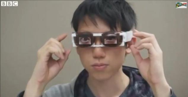 Okulary imitujące ludzkie emocje