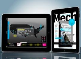 Interaktywna edycja Popular Mechanics dla iPad
