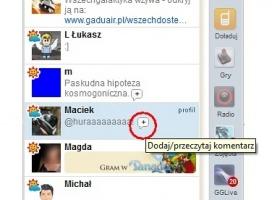 """GG.pl coraz bardziej jak Facebook. Można """"lubić"""" opisy"""