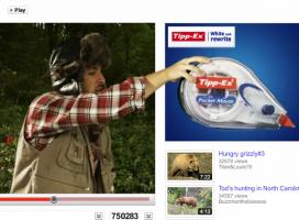 Tipp-Ex na YouTube. Kampania z rozmachem
