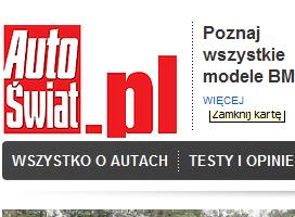 AutoŚwiat.pl w nowej odsłonie