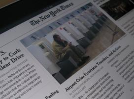 New York Times zrezygnuje z druku