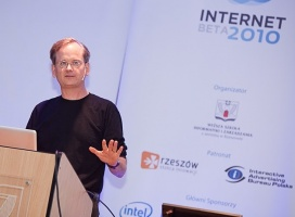 Lawrence Lessig, fot. Piotr Kordyś/bluecherry.pl