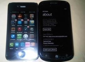 Nowy Samsung z Windows Phone 7 na tle iPhone'a 4