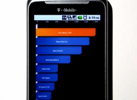 T-Mobile G2 (HTC Desire Z) – test wydajności [wideo]
