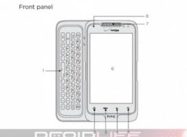 Wycieka instrukcja telefonu HTC Merge