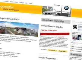 Kolejna duża kampania z blogerem. BMW stawia na blogomotive.pl