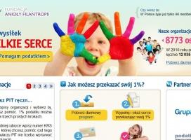 Kampania na rzecz podatku - 1 procent od o2.pl