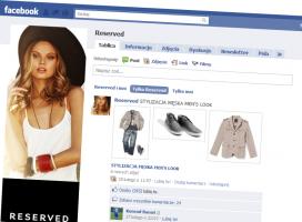Fanpage Reserved - nie został skasowany z Facebooka