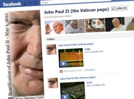 Oficjalna strona Jana Pawła II na Facebooku