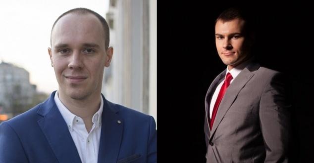 Na zdjęciu Tomasz Strączyński (z lewej) i Igor Samul (z prawej), fot. Royal Ad