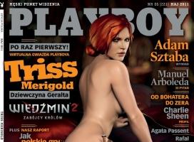 Okładka majowego Playboya