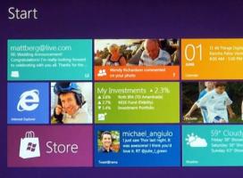Nowy wygląd interfejsu Windows 8