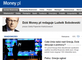 Honorowy Redaktor Naczelny Money.pl