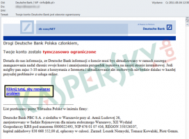 Phishing w Deutsche Bank