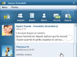 Wersja testowa aplikacji miniNK - fot. NK.pl