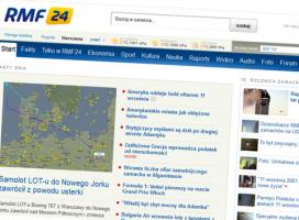 Nowa strona RMF24.pl. Przesadzony minimalizm?