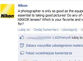 fanpage Nikon