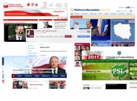 Wybory 2011. Serwisy partyjne pod lupą