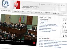 Oceniamy nową stronę Sejmu. Kiepsko z SEO, lepiej z wyglądem