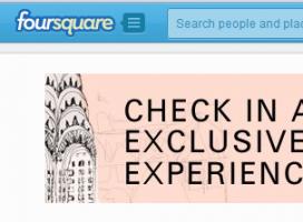 Hugo Boss na Foursquare