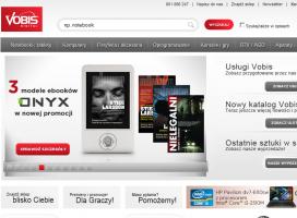 Vobis.pl zmienia layout. Mniej bannerów, odchudzona treść