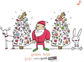 Przegląd interaktywnych e-kartek i życzenia świąteczne