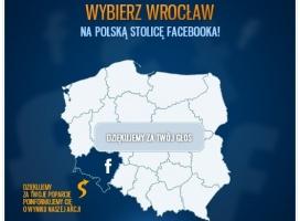 Wrocławscy internauci zachęcają Zuckerberga. Otworzy oddział?