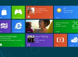 Ekran startowy Windows 8