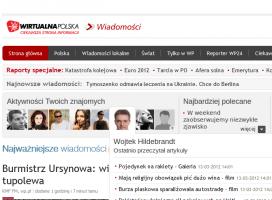 Wirtualna Polska mocno zintegrowana z Facebookiem
