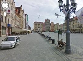Google Street View ruszył w Polsce