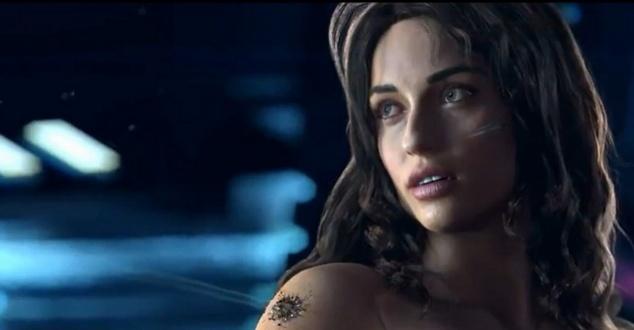 Na zdjęciu kadr ze zwiastuna gry CD Projekt RED, czyli Cyberpunk 2077