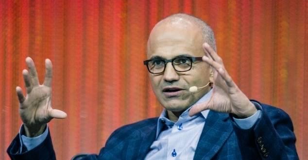 na zdjęciu: Satya Nadella, prezes Microsoftu