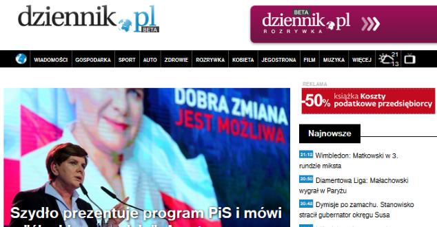 Nowy Dziennik.pl - miało być rewolucyjnie, ale nie do końca wyszło. Eksperci oceniają