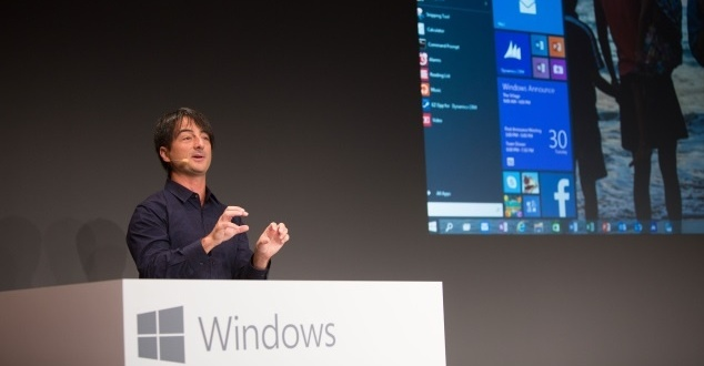 Na zdjeciu Joe Belfiore, Microsoft (fot. Microsoft Media Center_