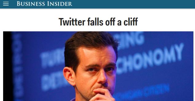Business Insider - zrzut ekrany strony głównej