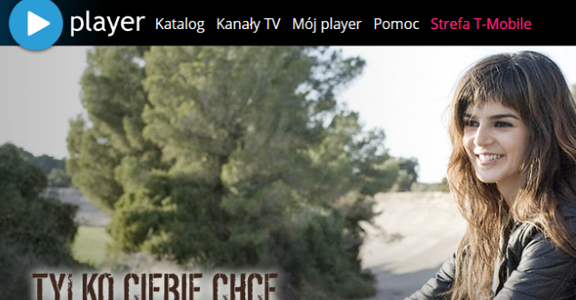 Player.pl - zrzut z ekranu